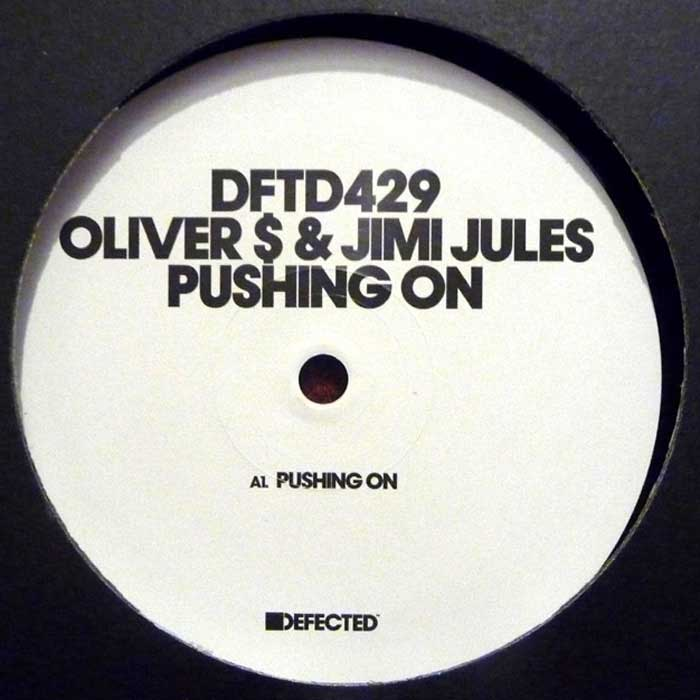 Oliver $ and Jimi Jules - Pushing On VINYL AFC FM