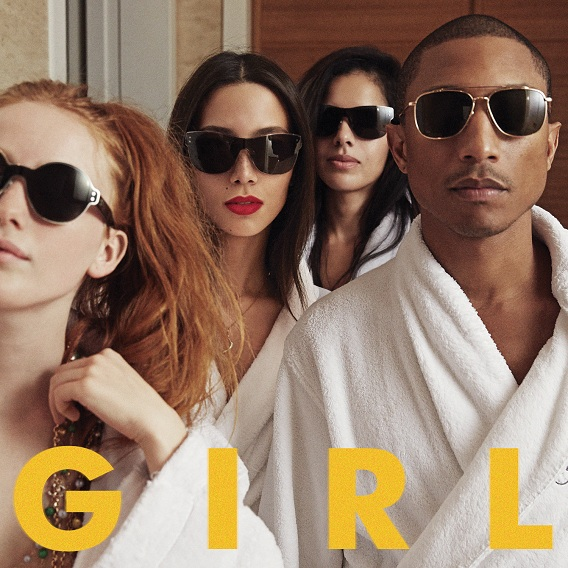 Pharrell Williams - Gust of wind - GIRL - AFC.FM