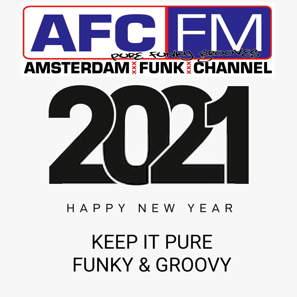 Happy New Year! 2021 will be pure, funky and groovy.