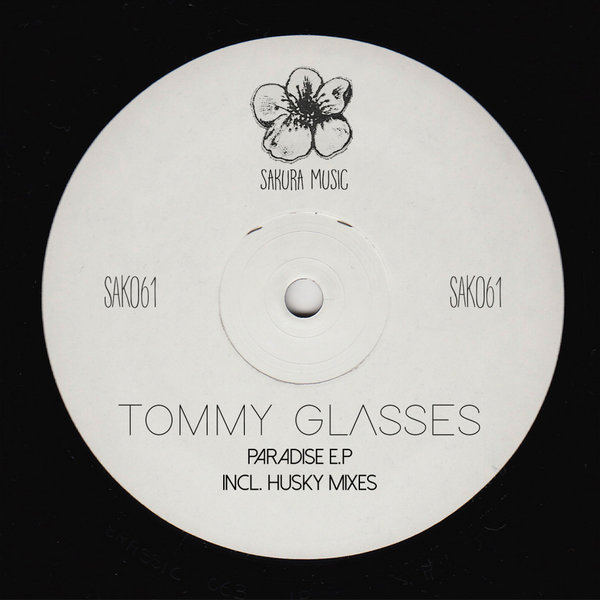 Album cover Tommy Glasses - Paradise EP