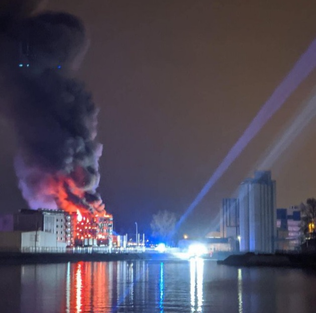 Brand in ons datacenter